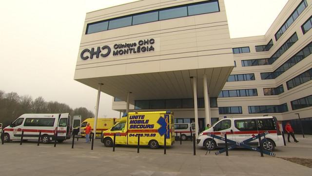 Quatre patients de Liège ont été déplacés vers Allemagne