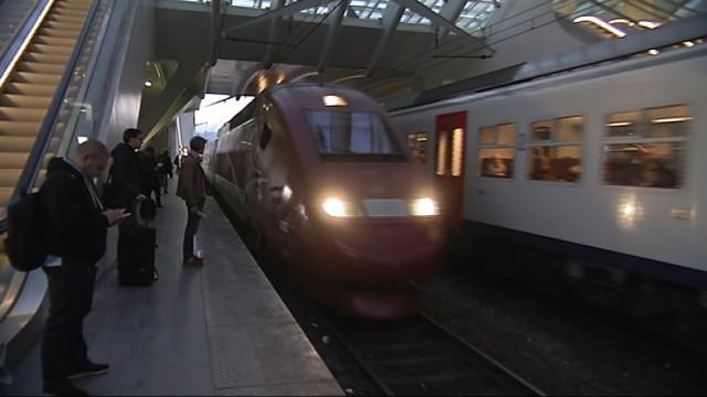 Plus de Thalys en gare des Guillemins jusqu'au 12 décembre inclus