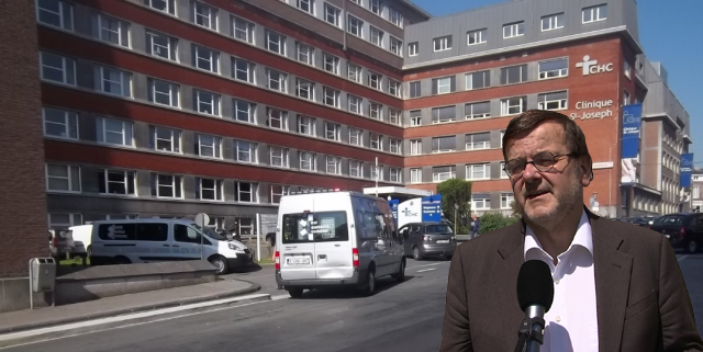 Il n'y aura finalement pas d'hôpital de campagne à Liège