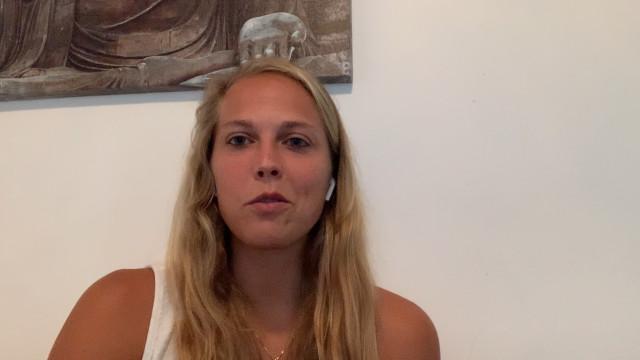 """Julie Allemand est """"fière"""" de son équipe et de la qualification pour l'Euro 2021"""
