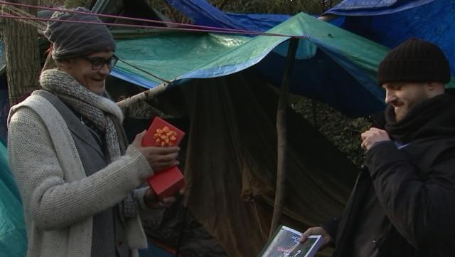 Un geste d'humanité pour les sdf du camp de la Chartreuse