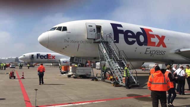 Fedex : grève de 48 heures, aucun avion déchargé à Liège