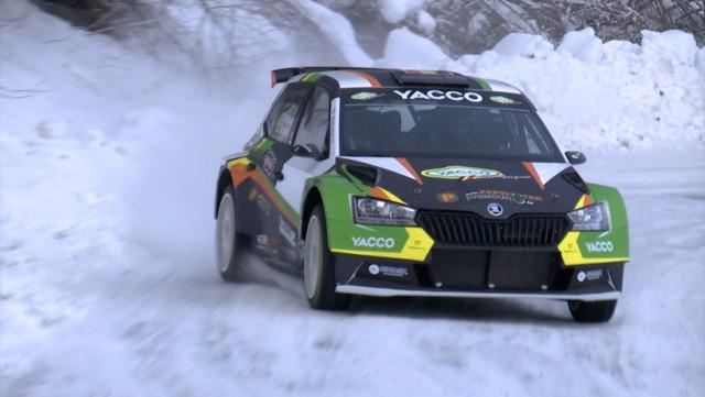 De Cecco se teste sur la neige en vue du Monte-Carlo