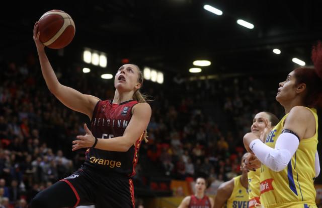 Basket : les adversaires de Julie Allemand et des Belgian Cats aux Jeux