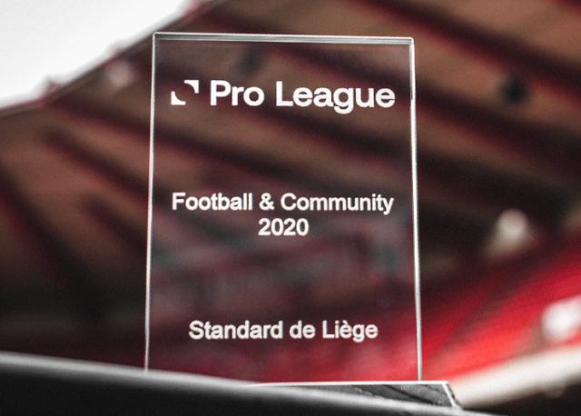 Le Standard a nouveau primé pour son travail sur la communauté