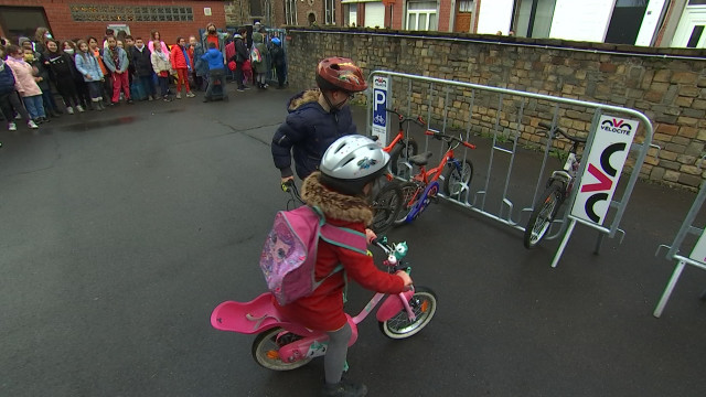 600 emplacements pour vélos dans les écoles liégeoises