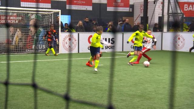 3.500 jeunes au Soccer Club cet hiver !