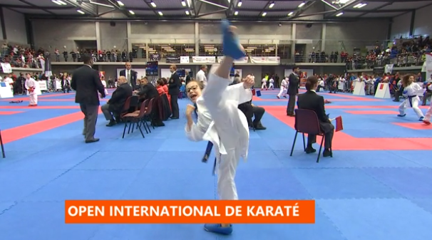 3ème open international de Karaté à Herstal