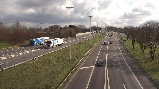 Autoroute et travaux : mise à 4 voies entre Loncin et Alleur