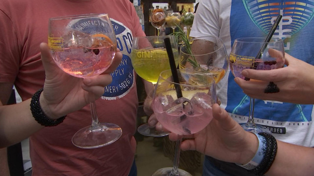 4e édition du festival du Gin à l'abbaye du Val Saint-Lambert