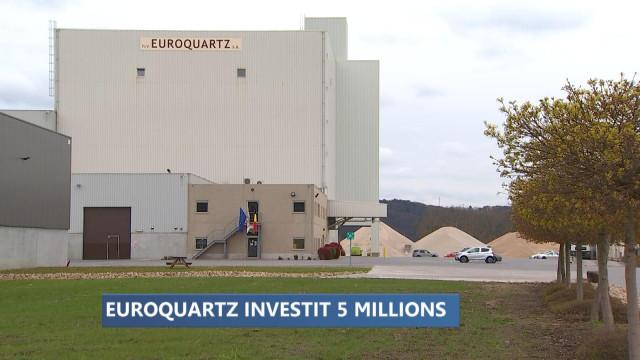 5 millions d'investissements pour Euroquartz à Hermalle