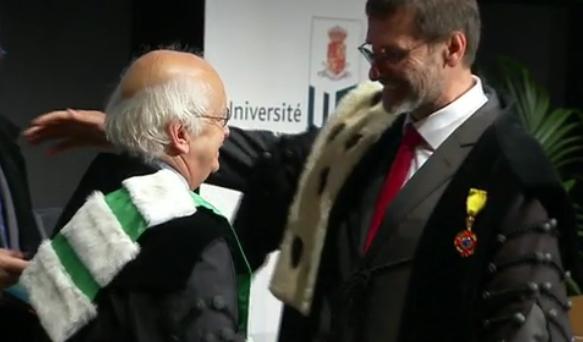 Cinq nouveaux Docteurs Honoris Causa à l'Université de Liège (vidéo)