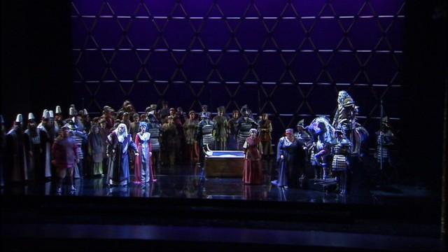 Le célèbre Nabucco à l'Opéra Royal de Wallonie