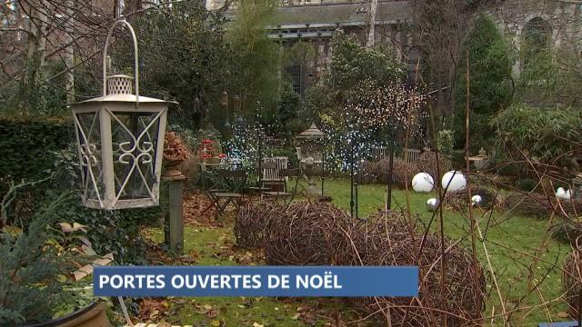 Les décorations féériques du curé de l'Eglise St Pierre à Huy