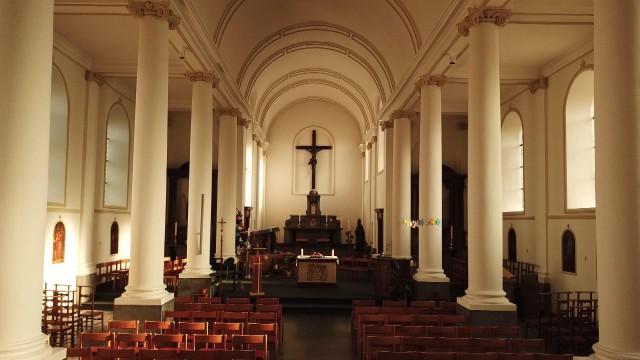 Ouffet : la collégiale Saint Médard remise à neuf