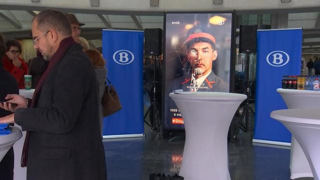 Liège Guillemins : dire stop aux agressions sur les accompagnateurs de train