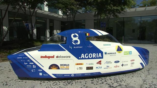 Solar Team présente sa huitième voiture solaire