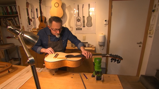 Renzo Salvador, un luthier reconnu à l'international