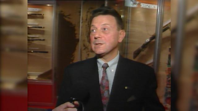 Claude Gaier, grand spécialiste des armes, est décédé
