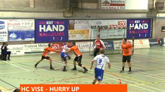 Handball : HC Visé - Hurry Up