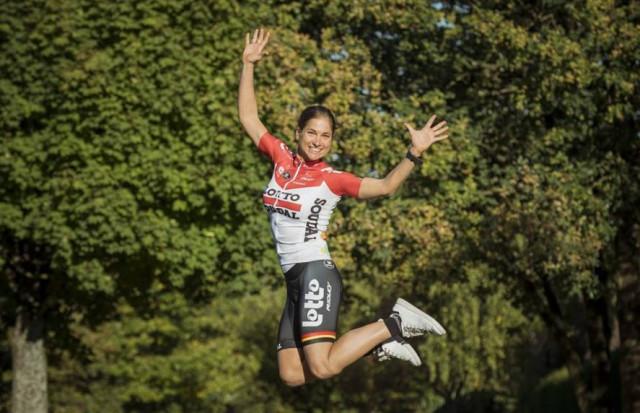 Cyclisme : Marie Dessart devient pro à 37ans !