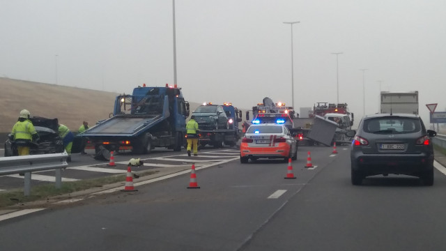 Accident sur l'E42 : importants ralentissements ce mardi matin