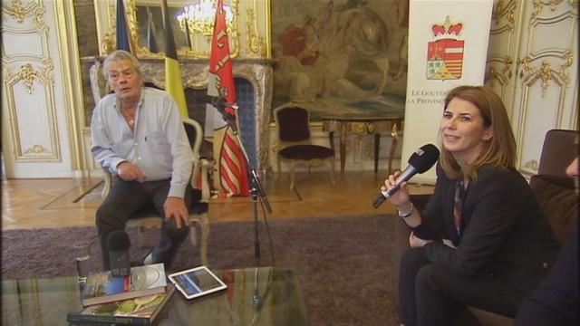 Alain Delon à Liège : morceaux choisis