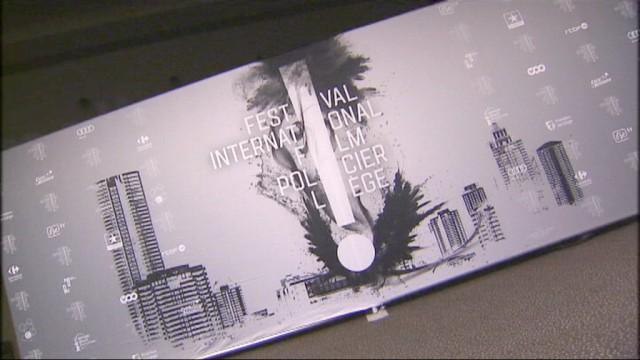 Alain Delon et Jean-Pierre Mocky au Festival international du Film Policier