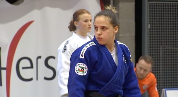 Alessia Corrao, la pépite du judo belge
