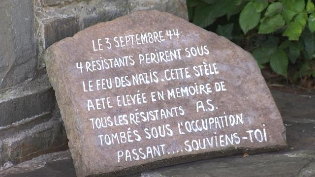 Amay : commémorations au Refuge Marsouin