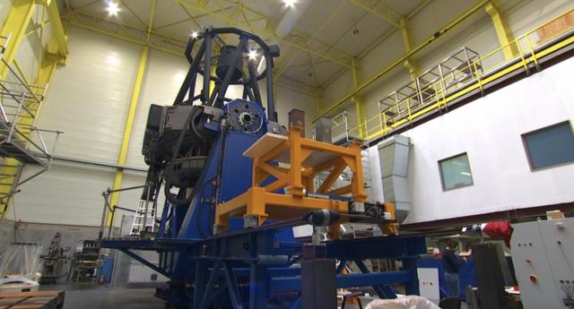 Amos : un télescope liégeois pour l'Inde