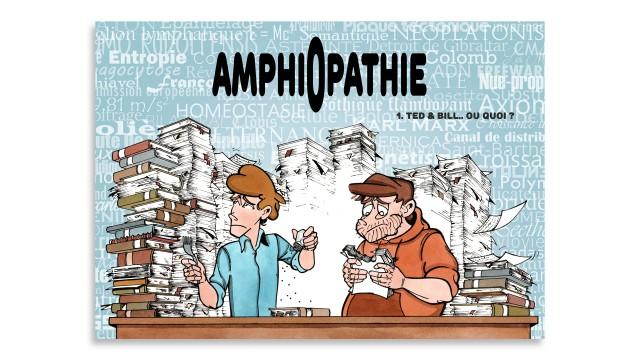 Amphiopathie : un crowdfunding pour sortir la BD