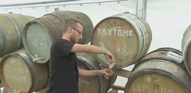 Anthisnes : de la bière vieillie en fûts de chêne