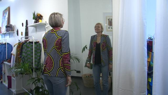 Antilope Lab : des vêtements en wax pour tous, confectionnés à Liège
