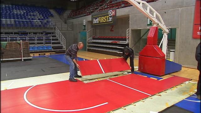 Anvers prête son parquet en urgence à Liège Basket
