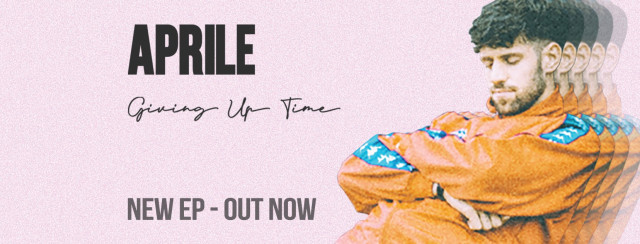 "Aprile sort un nouvel EP ""Giving up time"""