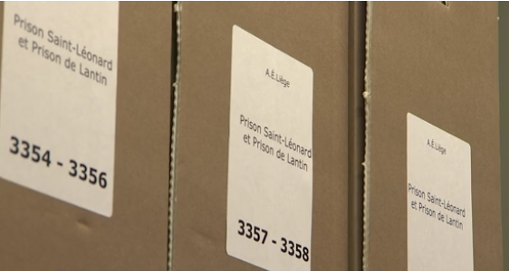 Archives de la prison de Liège