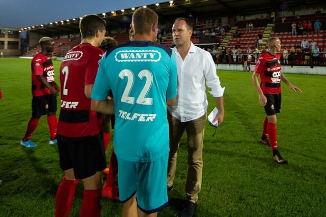Arnaud Mercier (RFC Seraing) entraîneur de Waasland Beveren