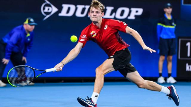 ATP Cup: exploit de Goffin mais élimination belge