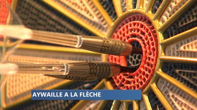 Aywaille : des champions du monde de fléchettes
