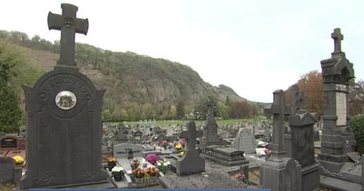 Aywaille : un cimetière vert