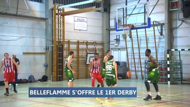 Basket : Belleflamme - Comblain