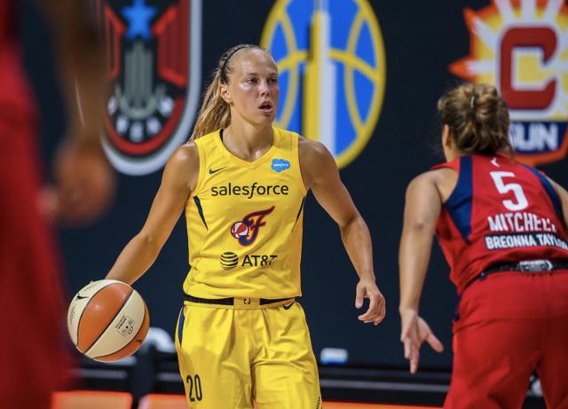 Basket : ça marche fort pour Julie Allemand aux USA !