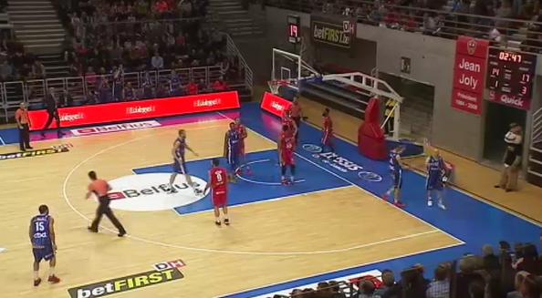 Basket: Liège Basket - Mons-Hainaut