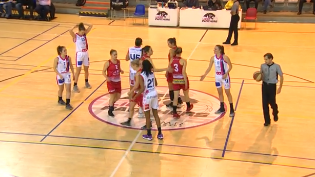 Basket : Liège Panthers - Ladies Charleroi
