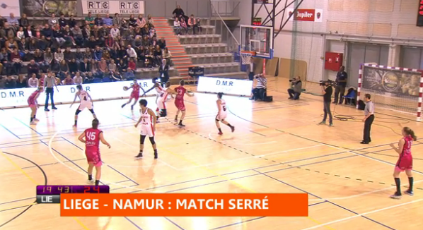 Basket : Liège Panthers - Namur