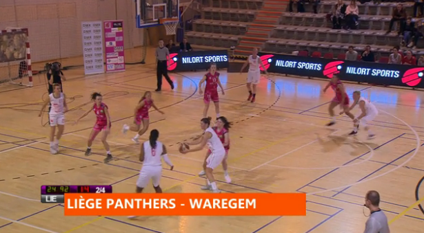 Basket : Liège Panthers - Waregem