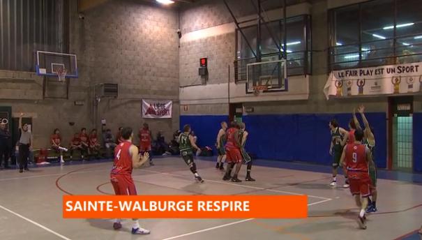 Basket : Sainte-Walburge - Esneux