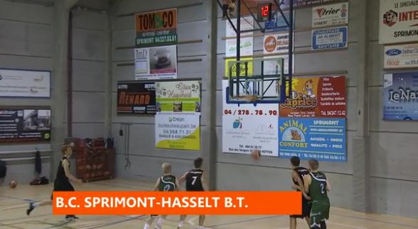 Basket : Sprimont - Hasselt
