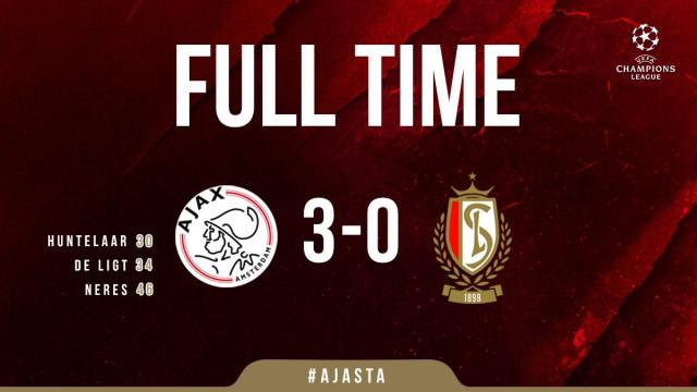 Battu 3-0 à l'Ajax, le Standard jouera l'Europa League